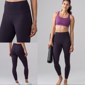 Boysenberry (dark purple) lulu lemon align pant